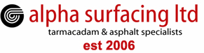 alpha surfacing tarmacadam