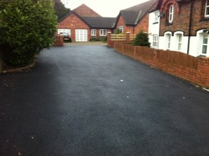 Another domestic driveway job in Warrington