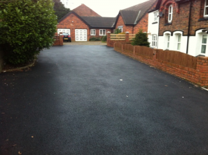 private road tarmacadam warrington