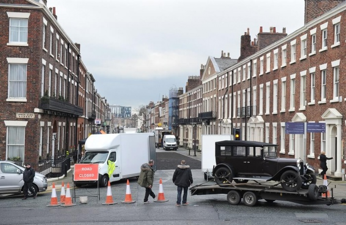 Peaky Blinders set