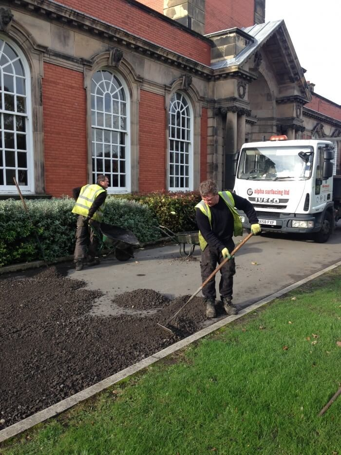 school bluecoat asphalt surfacing