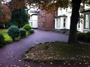 tarmacadam pathway in Warrington
